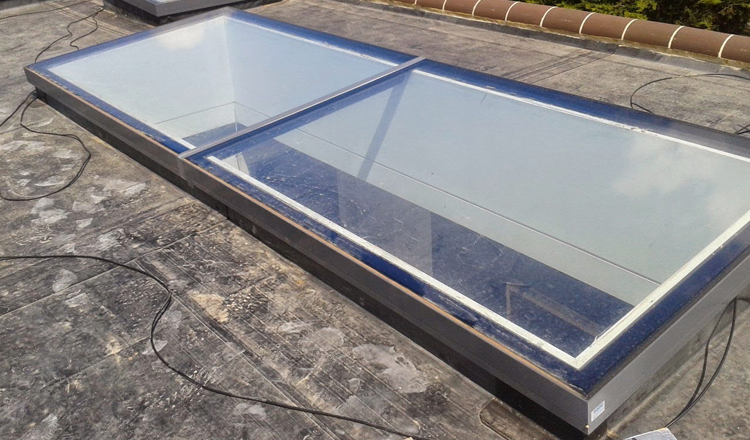 Laminated Glass Roof Lights